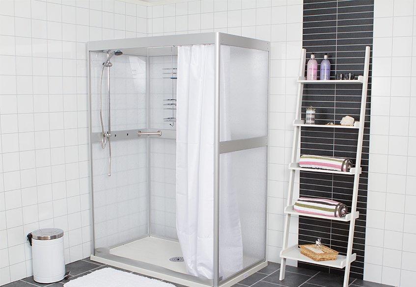 Västia duschrum för bostadsanpassning